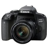 Canon EOS 800D Kit Aparat Foto DSLR 24.2MP
